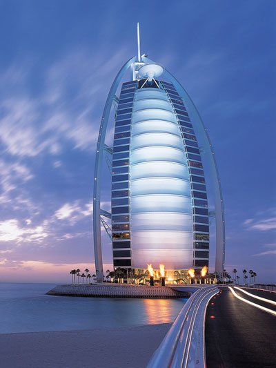 The most expensive hotel in the world - Burj Al Arab