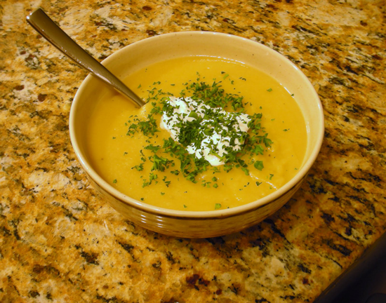 Parsnip Soup Recipe
