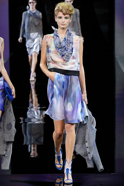 Giorgio Armani Spring/Summer 2014 - Milan Fashion Week