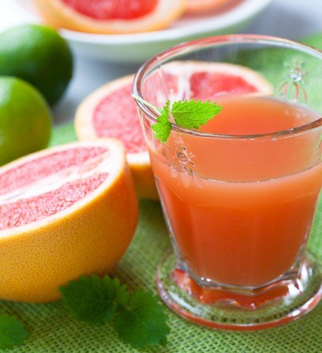 Grapefruit juice recipe