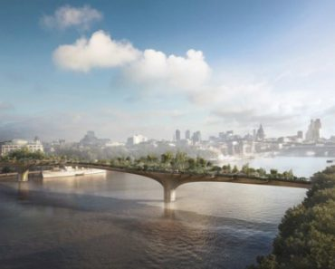 The Thames Garden Bridge