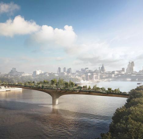 The Thames Garden Bridge