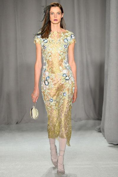 Marchesa Spring-Summer 2014 - New York Fashion Week
