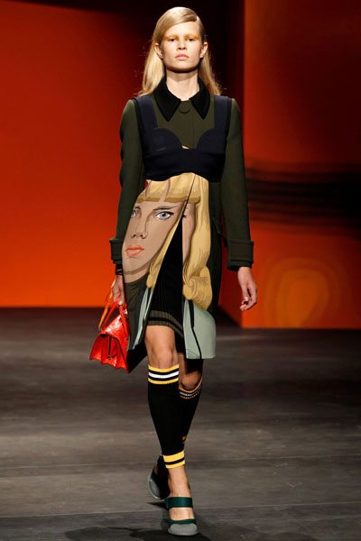 Prada spring/summer 2014 - Milan Fashion Week