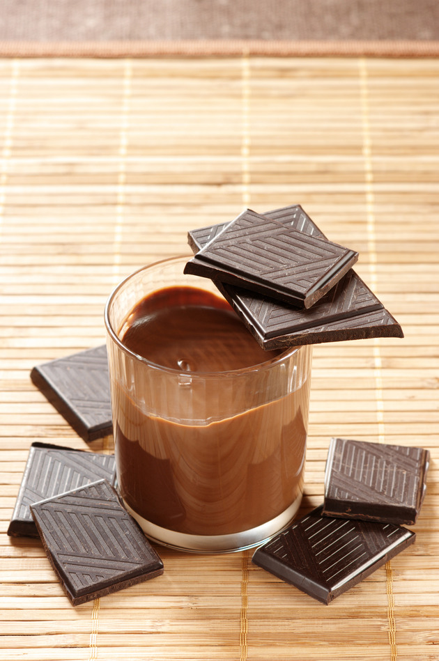 Chocolate milk for muscle building