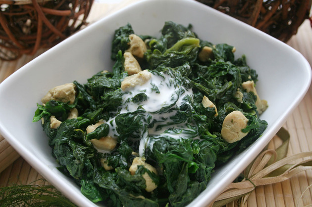 Spinach for muscle building