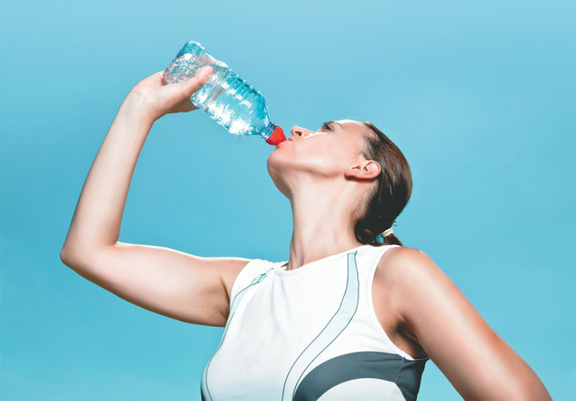 Water for muscle building